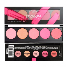 LOreal Infallible Blush Paint Palette Pinks x 3