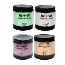 B.Y.S Shimmer Powder x 12