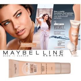 Maybelline Dream Matt Creme Gel Make-Up X 6
