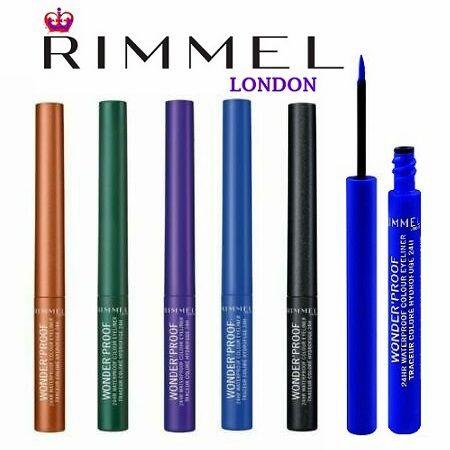 Rimmel WonderProof 24Hr Waterproof Colour Eyeliner X 12