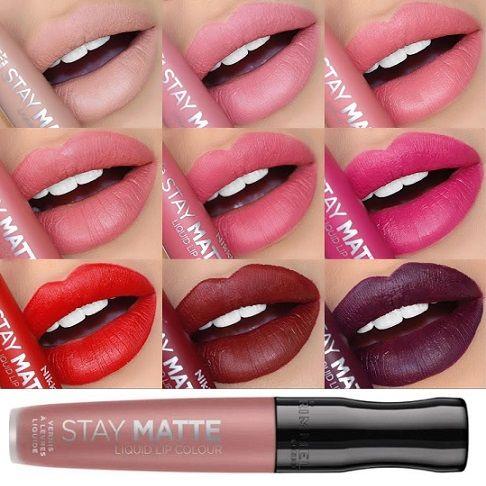 Rimmel Stay Matte Liquid Lip Colour x 20